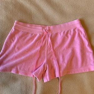 Lilly Pulitzer Pink Terry Cloth Shorts Medium